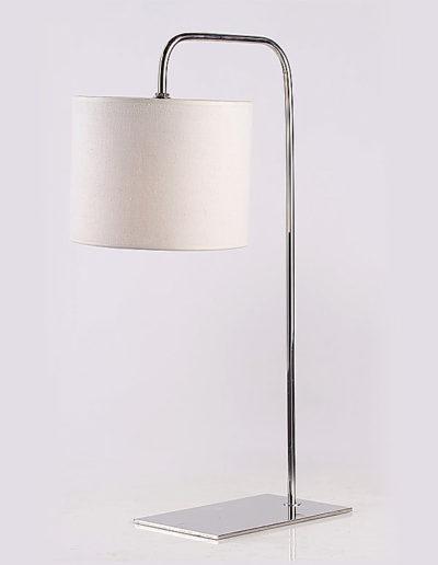 Lámpara FV cromo