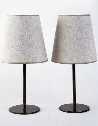 Lámpara Fifi H20 pulida con betún