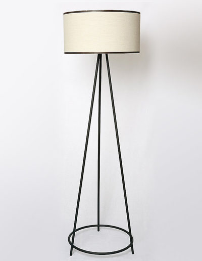 Lámpara Spica con argolla negra