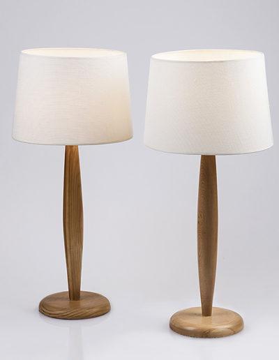 Lámpara Candelabro madera