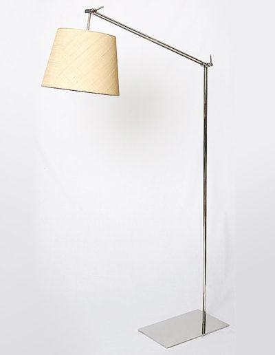 Lámpara brazo móvil cromo