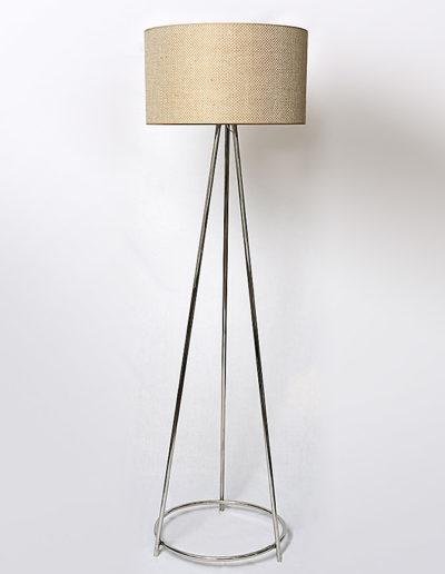 Lámpara Spica con argolla cromada