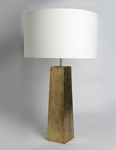 Lámpara piramidal lámina