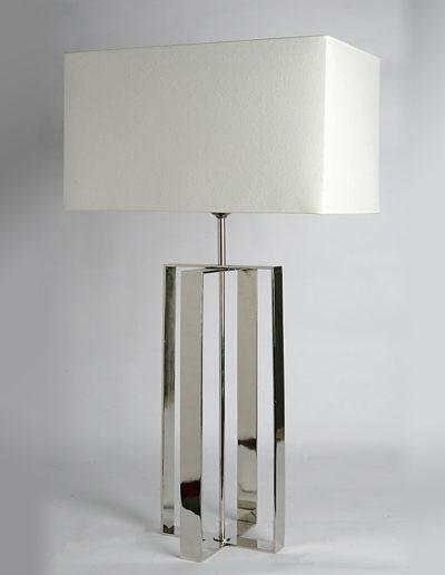 Lámpara cruz cromo