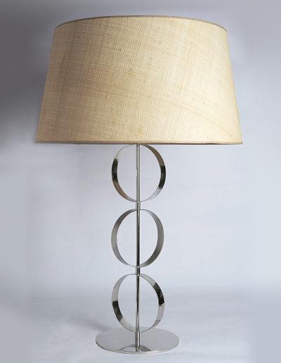Lámpara círculos móvil cromo