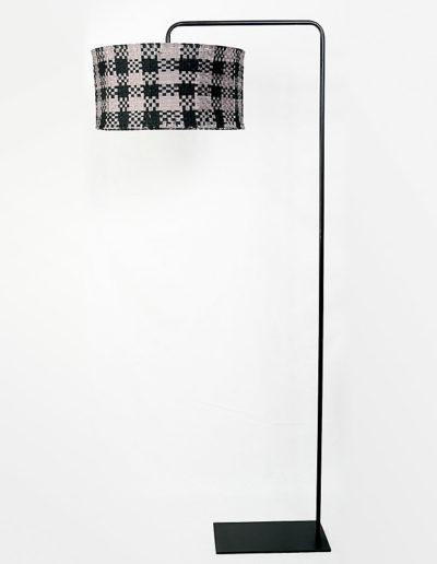 Lámpara FV negra