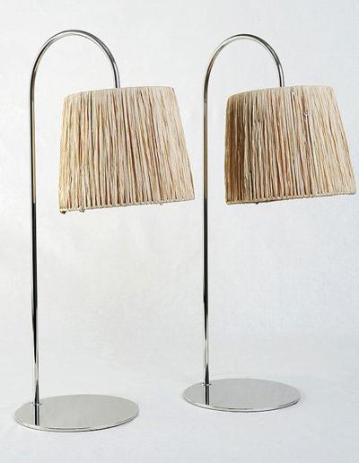 Lámpara calita H60 cromo