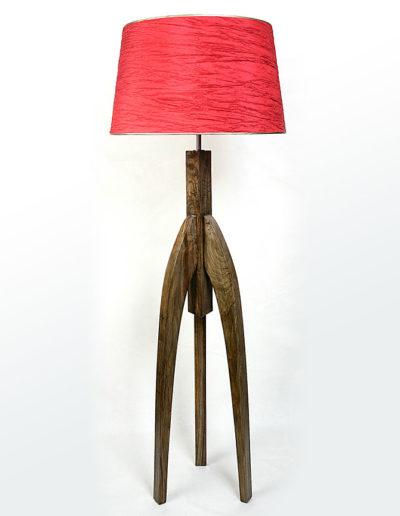 Lámpara africana castaño