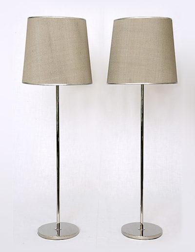 Lámpara Fifi base pesada H40 cromo
