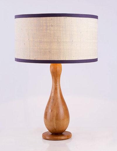 Lámpara palitroque madera
