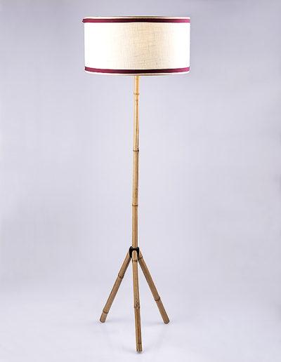 Lámpara tres patas bambú
