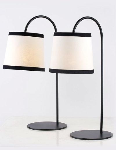 Lámpara caleta H50 negra
