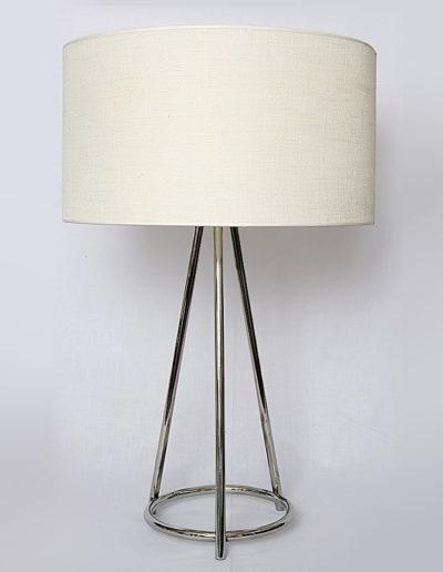 Lámpara Spica con anillo cromo