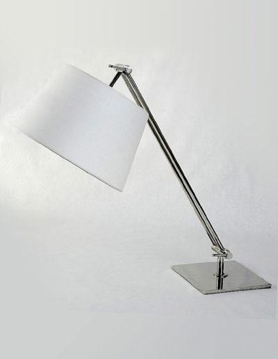 Lámpara móvil cromo