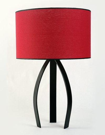 Lámpara ZZ negra