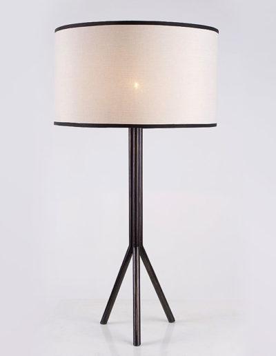 Lámparas 3 patas madera